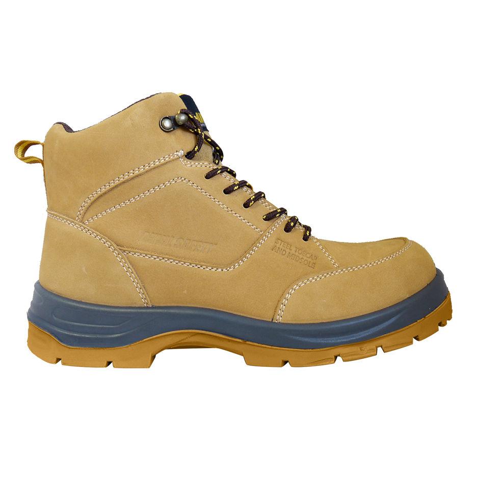 nubuck steel toe boots