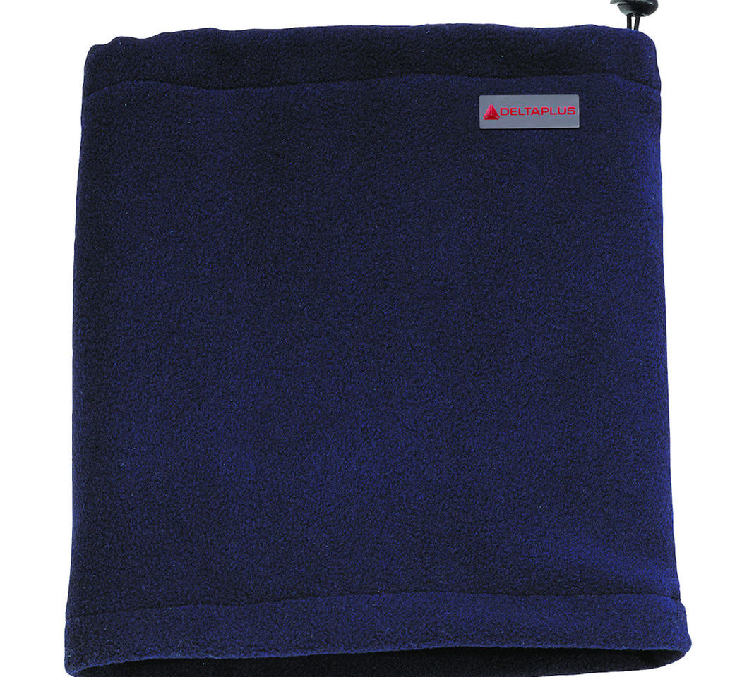 Delta Plus Chamonix Navy Blue Winter Polar Fleece Winter Neck Scarf Snood