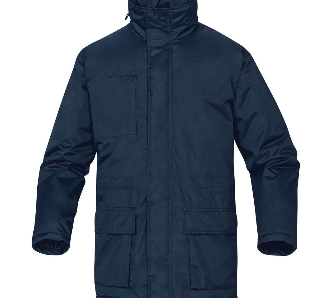Delta Plus Darwin 3 Navy Blue Waterproof Padded Mens Rain Coat