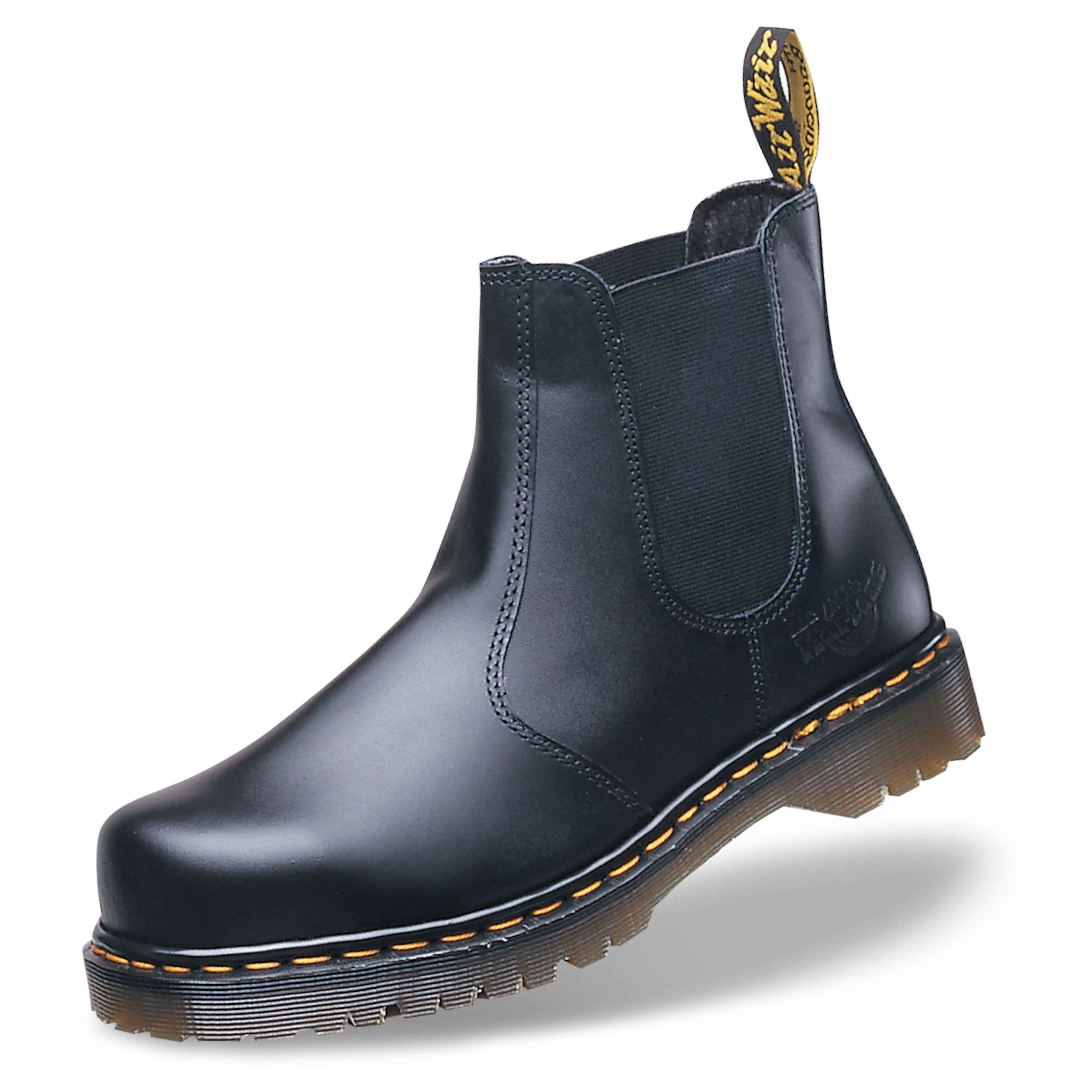 dr marten steel toe mens boots