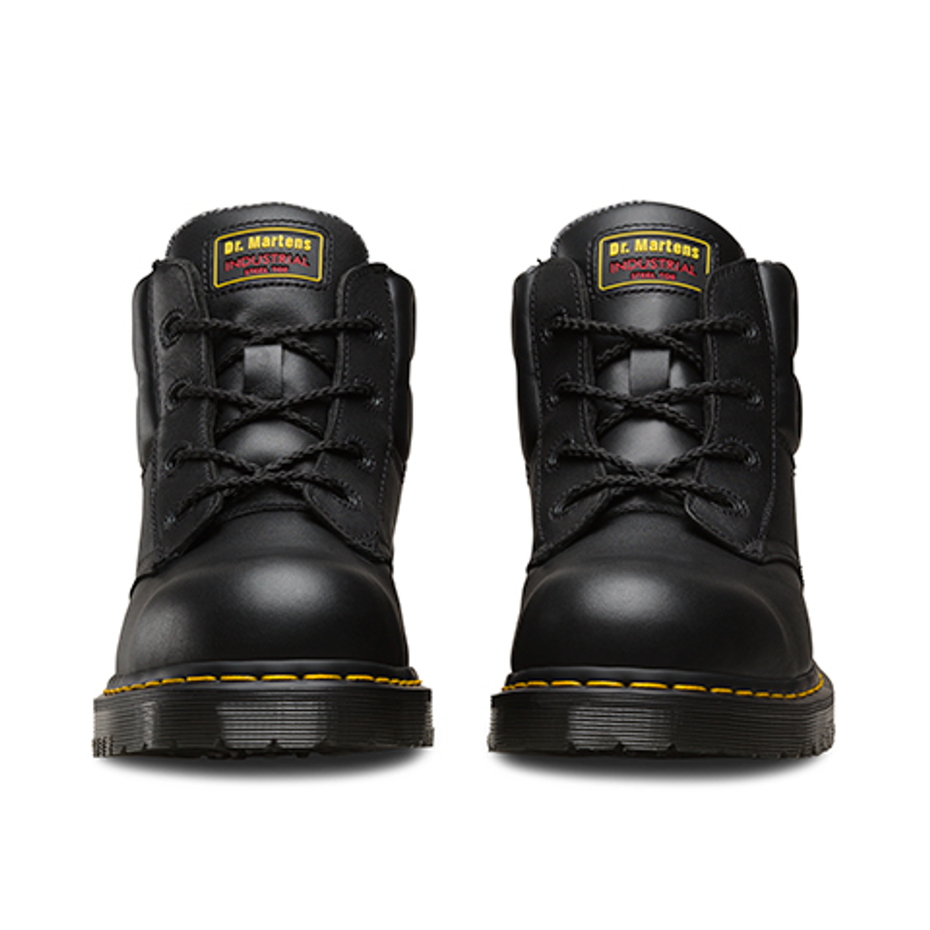 Dr Martens Icon 7B09 Black Steel Toe Cap Heavy Duty Safety Boots