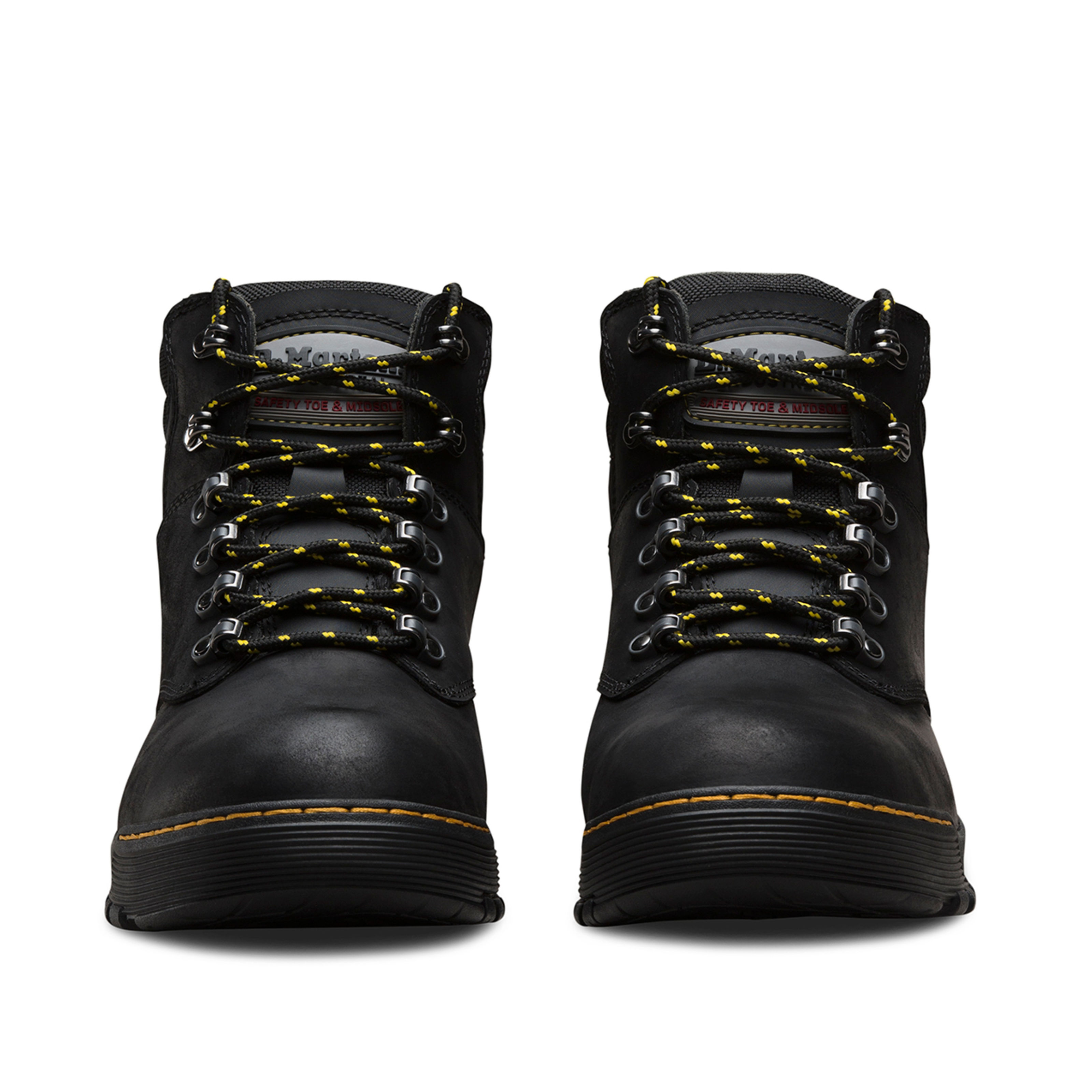 Dr Martens Ridge ST S3 HRO Black Steel Toe Cap Work Safety Boots