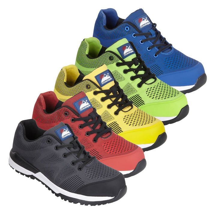 Himalayan #GOWork Bounce S1P SRC 100% Metal Free Composite Toe Safety Trainers