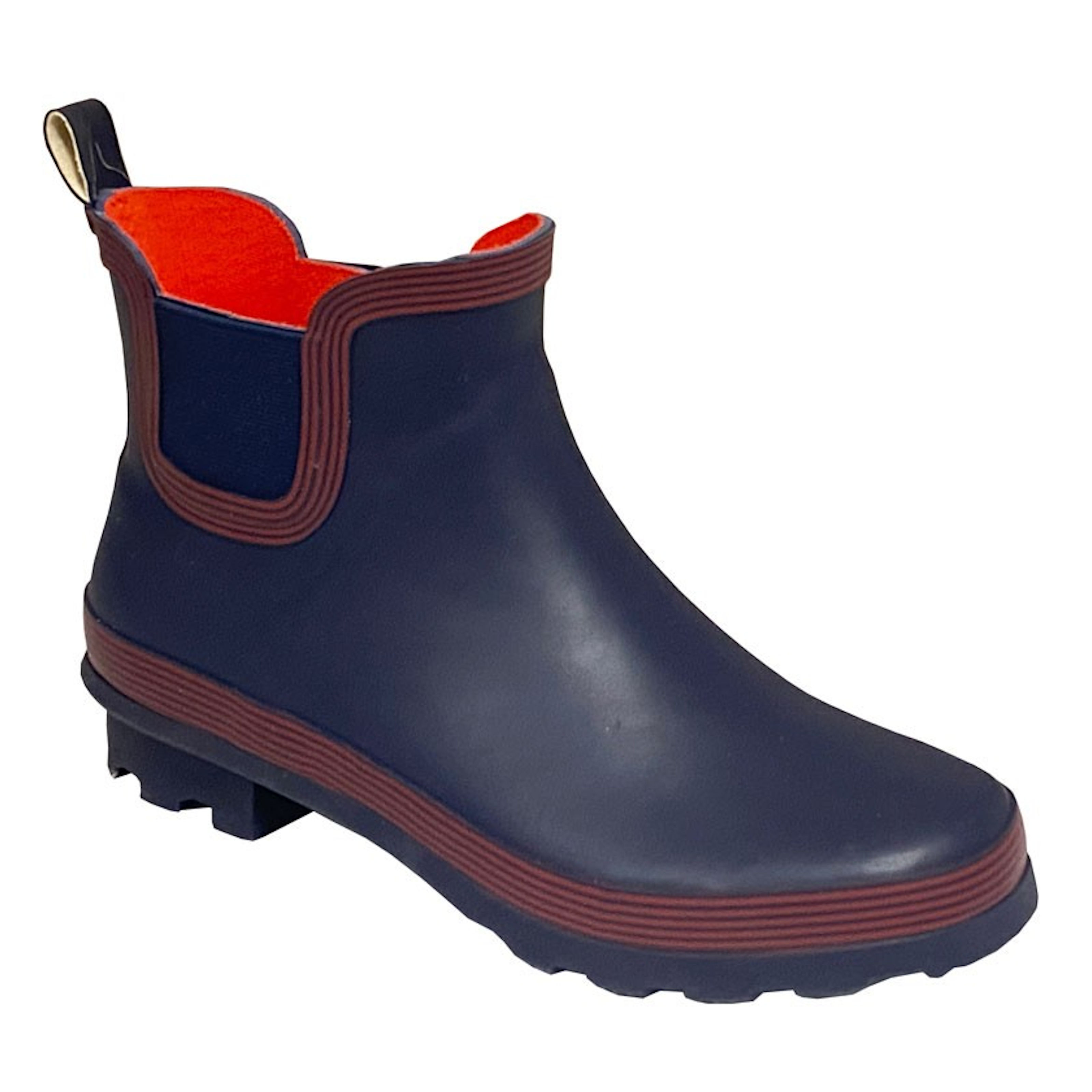 Stormwells Ladies Navy Blue With Red